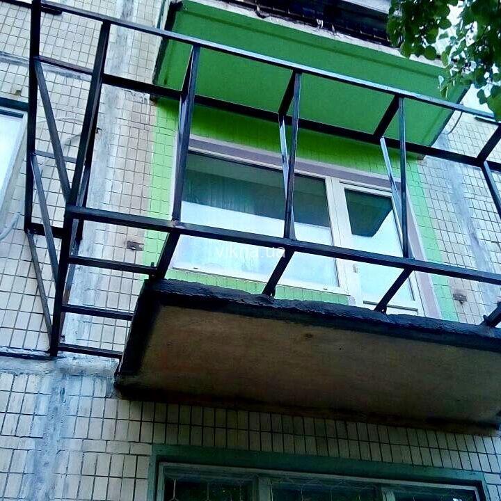 Как сделать вынос балкона