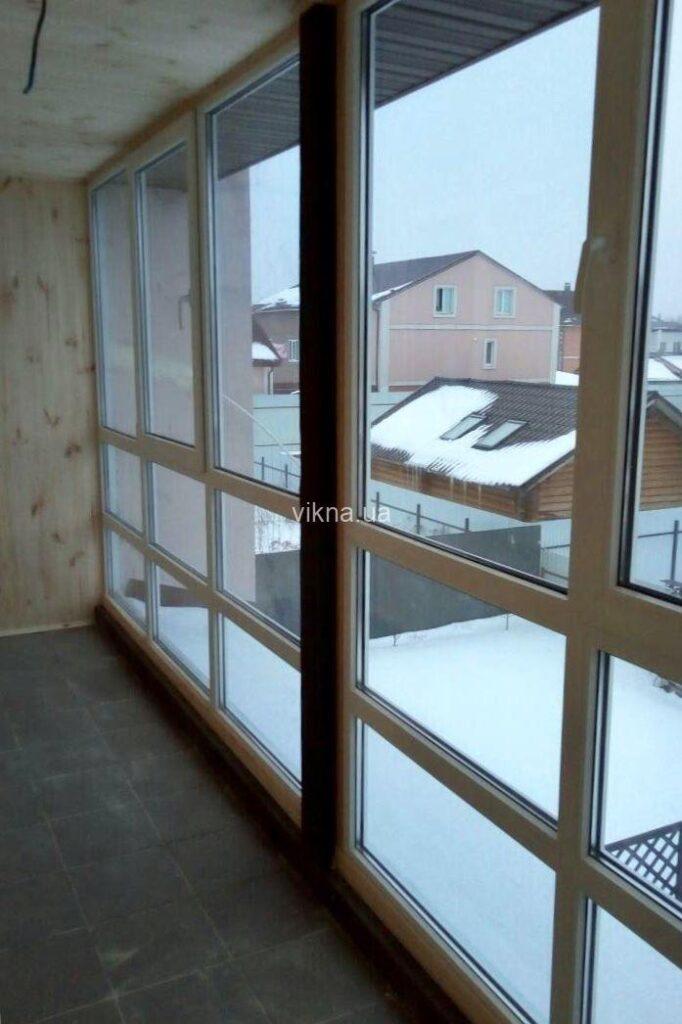 французский балкон рехау