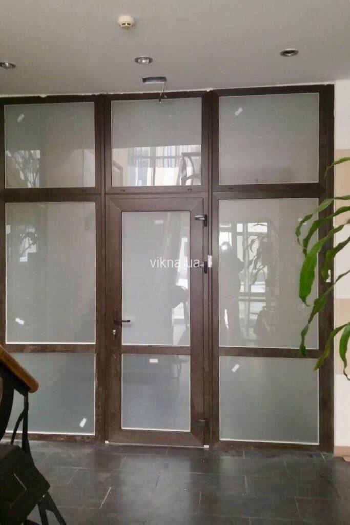 офисные пластиковые двери vigrand