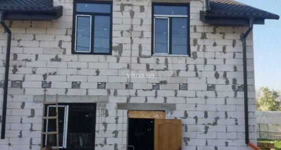 окна rehau euro 70 антрацит