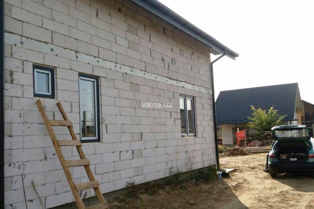 окна WDS серый антрацит