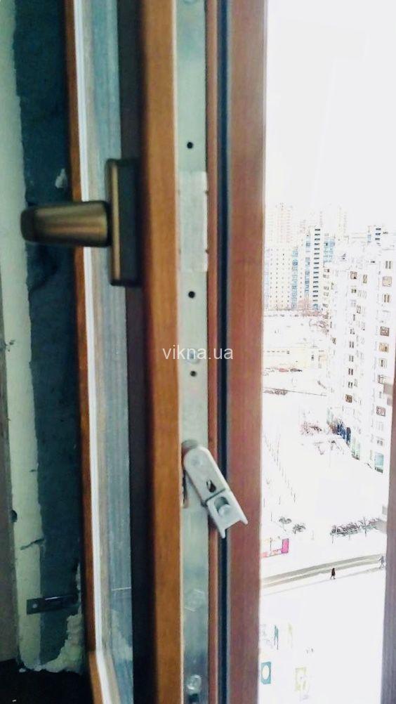 деревянные окна из евробруса сосна