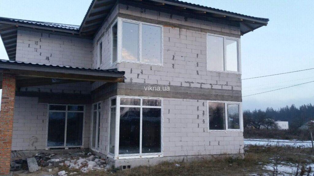 окна vigrand 6 для частного дома
