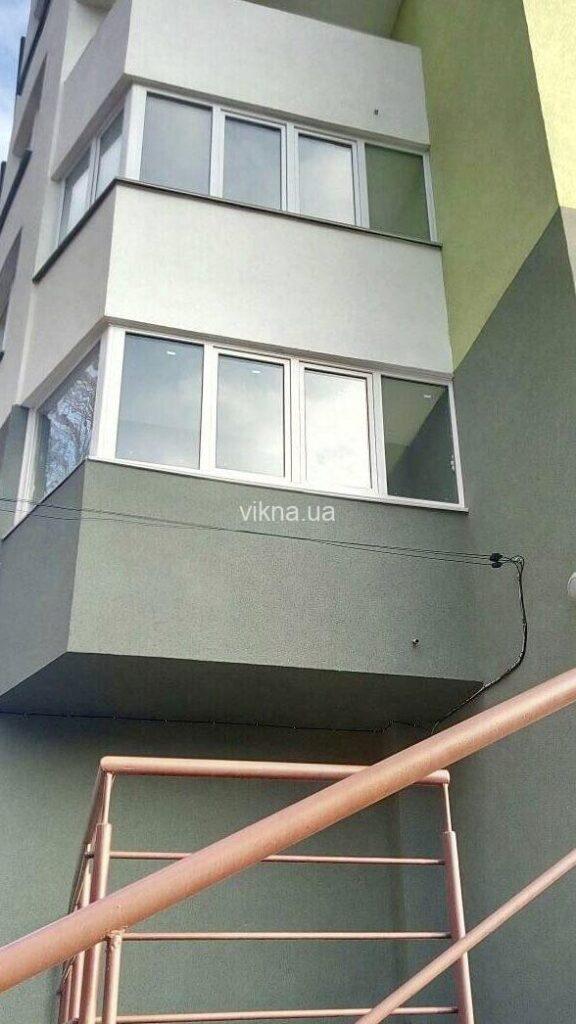 эркерный балкон open teck