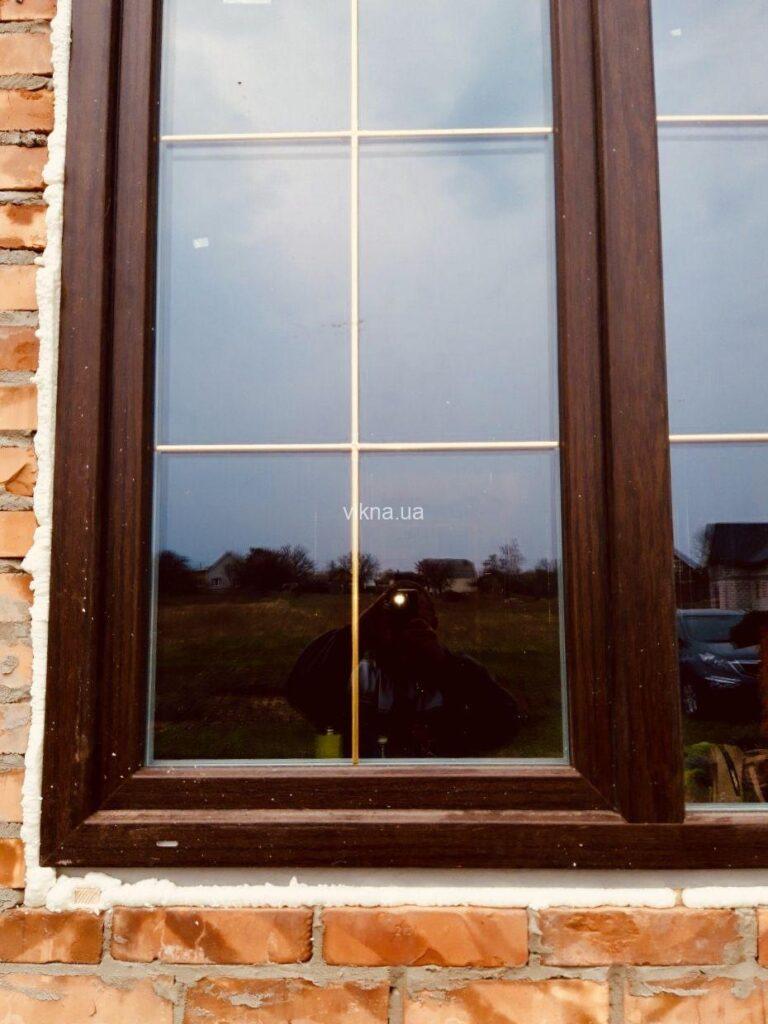 окна wds золотой дуб