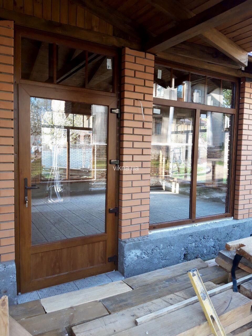 деревянные двери на веранду фото нас