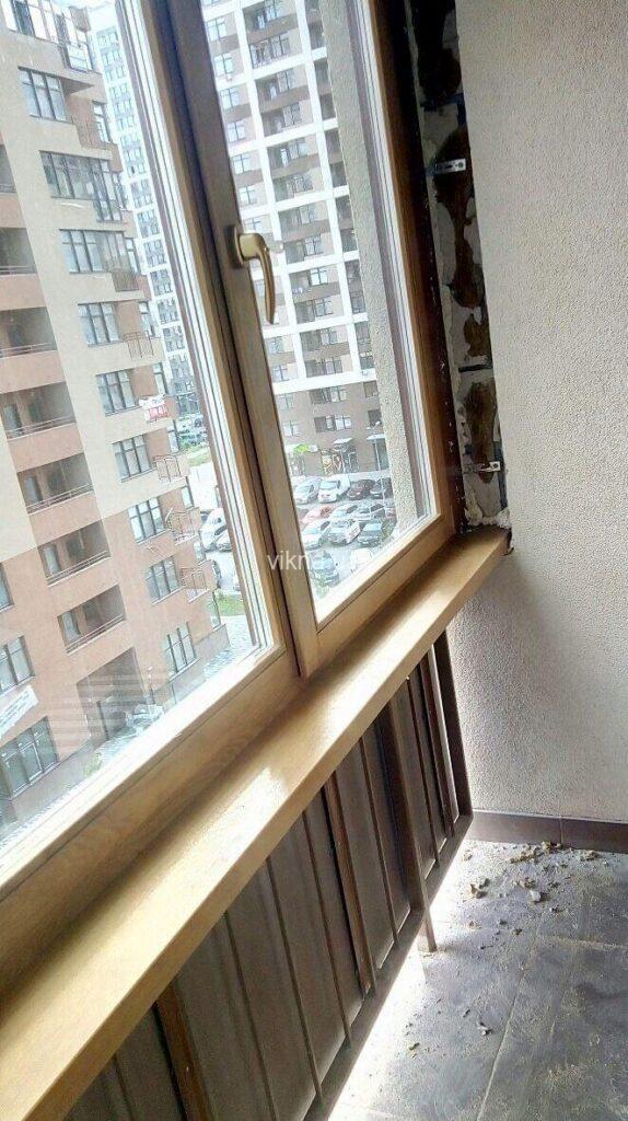 деревянные окна дуб